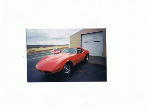1974 Chevrolet Corvette Stingray Coupe in Torch Red