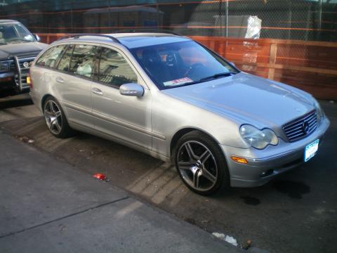 2004 Mercedes-Benz C 240 4Matic Wagon in Brilliant Silver Metallic