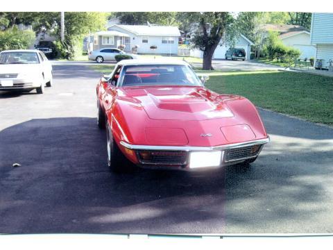 1972 Chevrolet Corvette Convertible in Mille Miglia Red