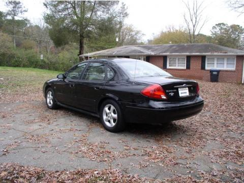 2001 Ford Taurus SES in Black