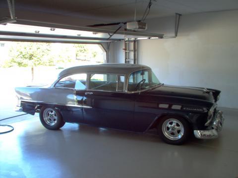 1955 Chevrolet 210 2 Door Post in Blue/Silver
