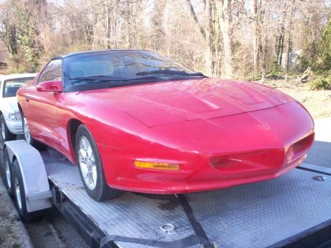 1993 Pontiac Firebird Coupe in Bright Red