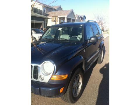 2007 Jeep Liberty Limited 4x4 in Midnight Blue Pearl