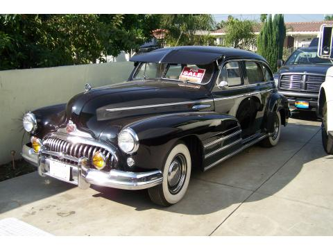 1948 Buick Roadmaster 4 Door