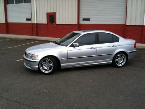 2002 BMW 3 Series 330i Sedan in Titanium Silver Metallic