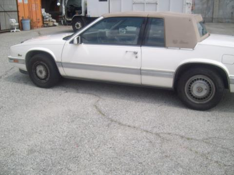 1988 Cadillac Eldorado Coupe in White