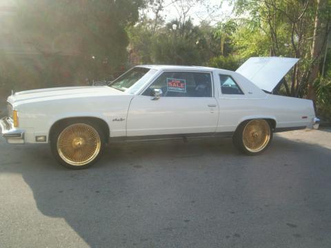 1978 Oldsmobile Ninety Eight Regency Coupe in White