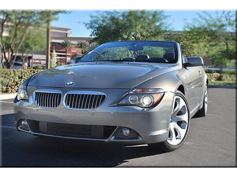 2006 BMW 6 Series 650i Convertible in Grey