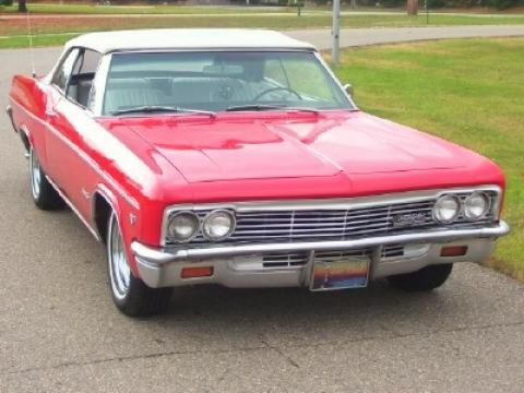 1966 Chevrolet Impala SS Convertible in Red