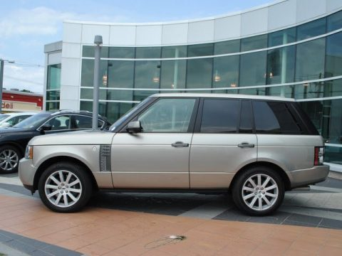 2010 Land Rover Range Rover Supercharged Autobiography in Ipanema Sand Metallic