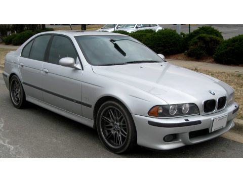 2000 BMW M5  in Titanium Silver Metallic