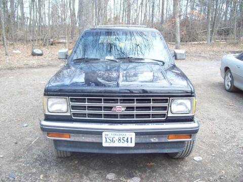 1988 Chevrolet S-10 Blazer 4x4 in Black