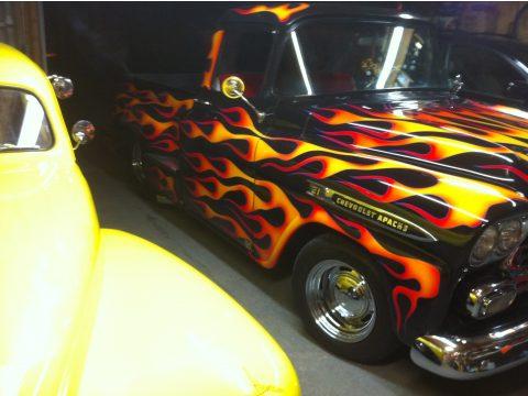 1959 Chevrolet Apache Pro Street Truck in Black
