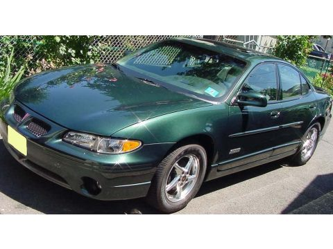 2000 Pontiac Grand Prix GTP Sedan in Dark Forest Green Metallic