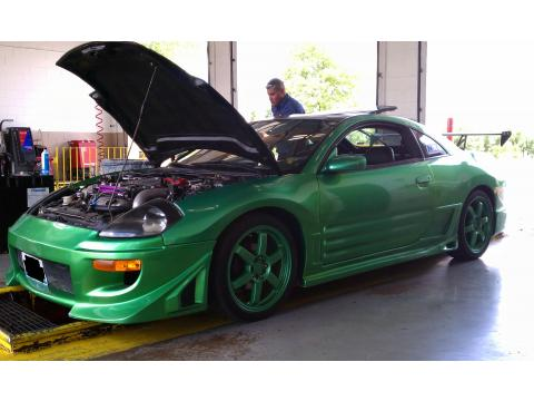2000 Mitsubishi Eclipse GT Coupe in Candy Green