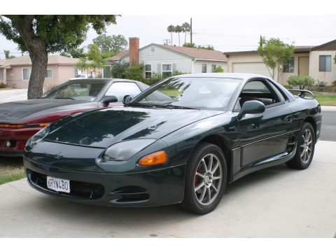 1995 Mitsubishi 3000GT Coupe in Panama Green Pearl Metallic