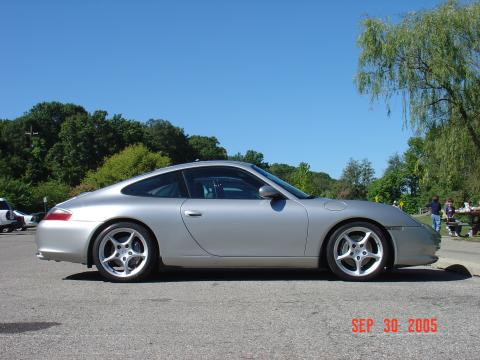 2002 Porsche 911 Carrera Coupe in Arctic Silver Metallic