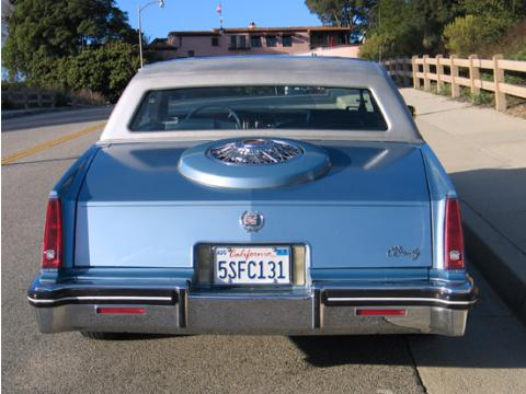 1982 Cadillac Eldorado Biarritz in Light Metallic Blue