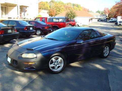 1998 Chevrolet Camaro Coupe in Navy Blue Metallic