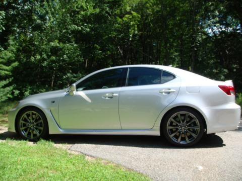 2008 Lexus IS F in Mercury Metallic