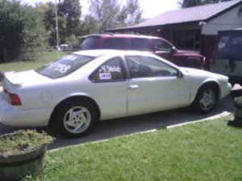 1997 Ford Thunderbird LX Coupe in Pearl White