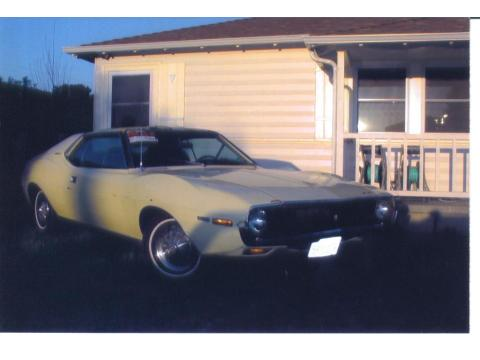 1971 AMC Javelin SST in Canary Yellow