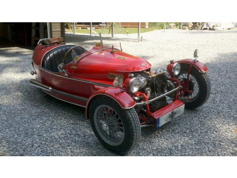 1937 Morgan S.S. 3 Wheeler jzr in Red