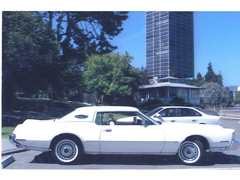 1973 Lincoln Continental Mark IV in White