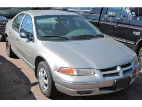 1996 Dodge Stratus ES in Light Silver Fern Pearl