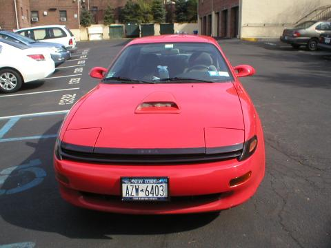 1991 Toyota Celica GT Coupe in Super Red