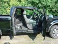 2011 F150 FX4 SuperCab, Interior in Black Leather