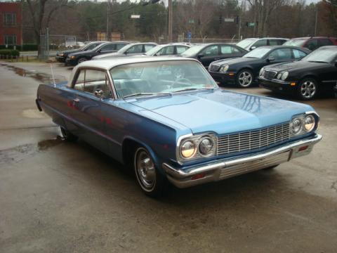1964 Chevrolet Impala Coupe in Sky Blue