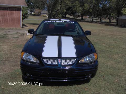 2001 Pontiac Grand Am SE Sedan in Navy Blue Metallic