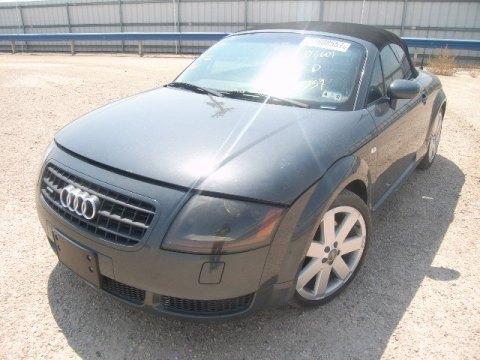 2003 Audi TT 1.8T Roadster in Brilliant Black