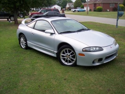 1999 Mitsubishi Eclipse GSX Turbo AWD Coupe in Minden Silver Pearl