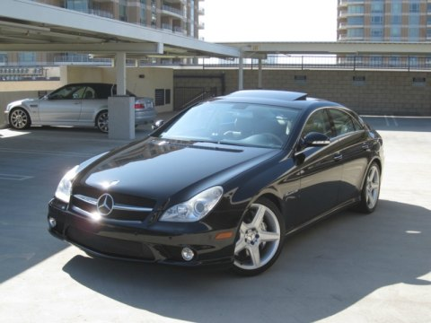 2006 Mercedes-Benz CLS 55 AMG in Black