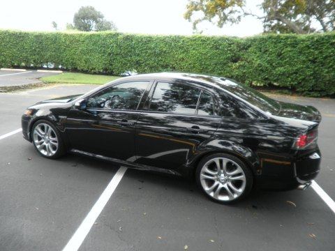 2007 Acura Type on Black Pearl 2007 Acura Tl