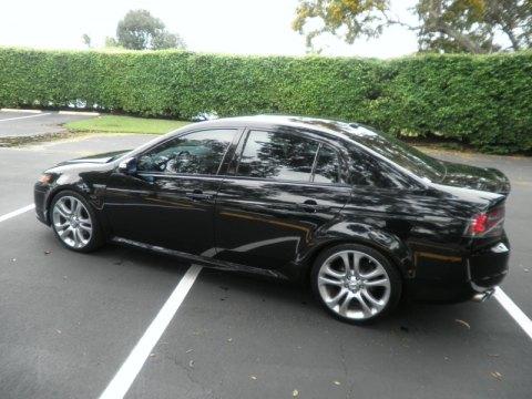 2007 Acura TL 3.5 Type-S in Nighthawk Black Pearl