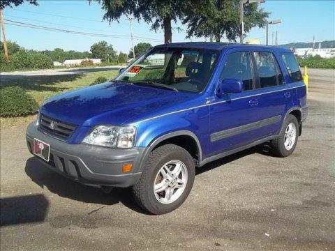 2001 Honda CR-V EX 4WD in Electron Blue Metallic