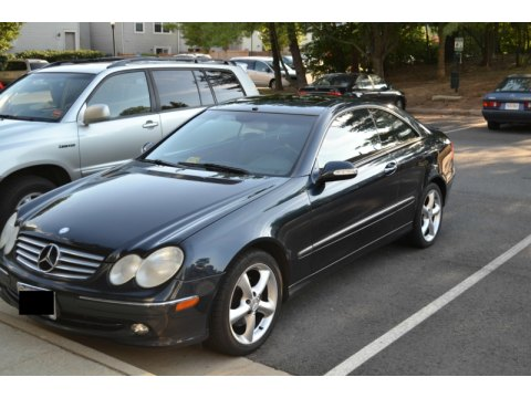 2004 Mercedes-Benz CLK 320 Coupe in Orion Blue Metallic