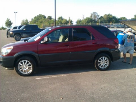 2005 Buick Rendezvous CXL in Cardinal Red Metallic