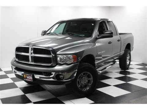 2005 Dodge Ram 2500 SLT Quad Cab 4x4 in Mineral Gray Metallic