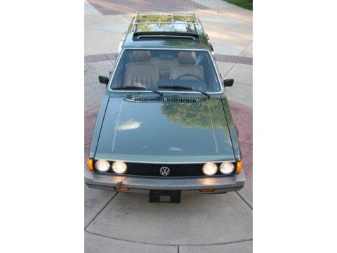 1981 Volkswagen Dasher Estate Wagon in Onyx Green Metallic