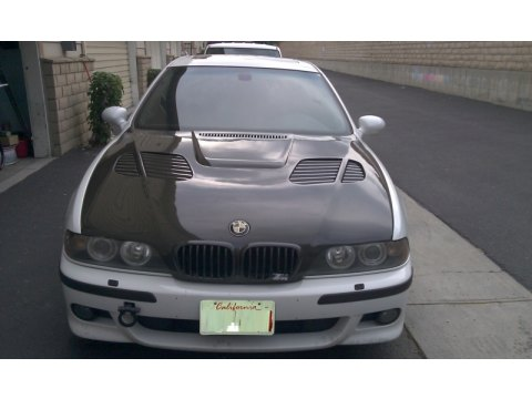 2001 BMW M5 Sedan in Alpine White