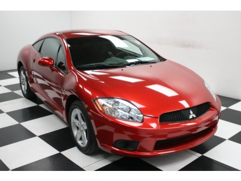 2009 Mitsubishi Eclipse GS Coupe in Rave Red Pearl