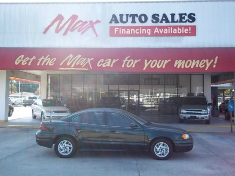 2003 Pontiac Grand Am SE Sedan in Polo Green Metallic