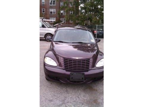 2004 Chrysler PT Cruiser  in Dark Plum Pearlcoat