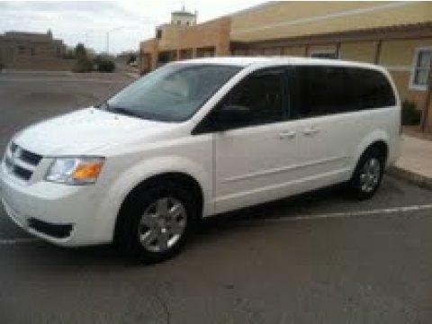 2010 Dodge Grand Caravan SE in Stone White