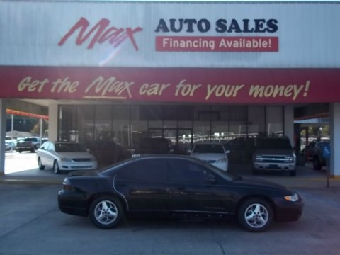 2002 Pontiac Grand Prix GT Sedan in Black