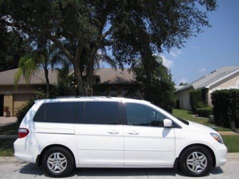 2007 Honda Odyssey EX-L in Taffeta White